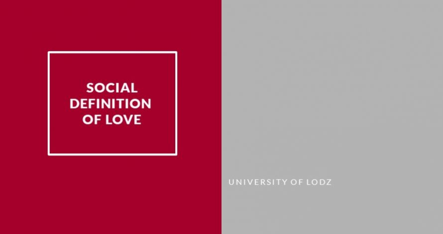 Social definition of love