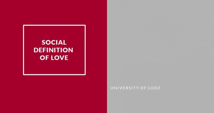 Social definition of love